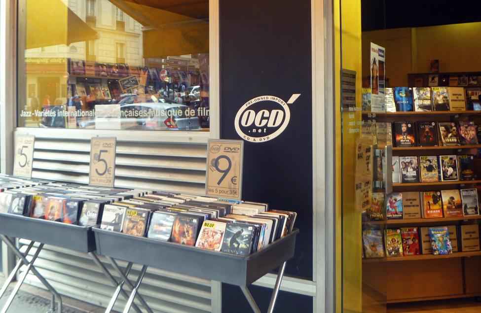 magasin ocd paris cd dvd vinyles blu ray jeux vid o. Black Bedroom Furniture Sets. Home Design Ideas