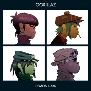 CD Gorillaz - Demon days