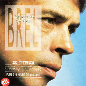 CD Jacques Brel - Quinze ans d'amour