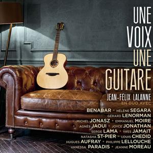 CD Jean Félix Lalanne - Une voix une guitare