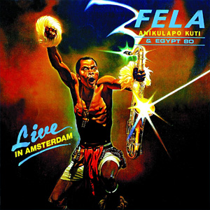 CD Fela Kuti - Live in Amsterdam 1983