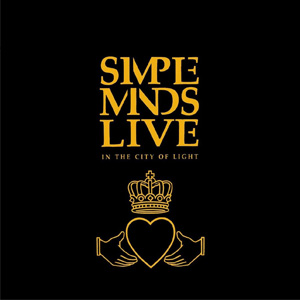 CD Simple Minds - Live in the city of lights