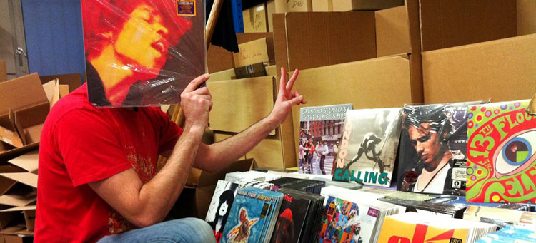 stock magasins O'CD cd, vinyles, dvd, blu-ray, jeux vidéo