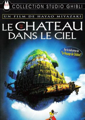 Le chateau dans le ciel DVD